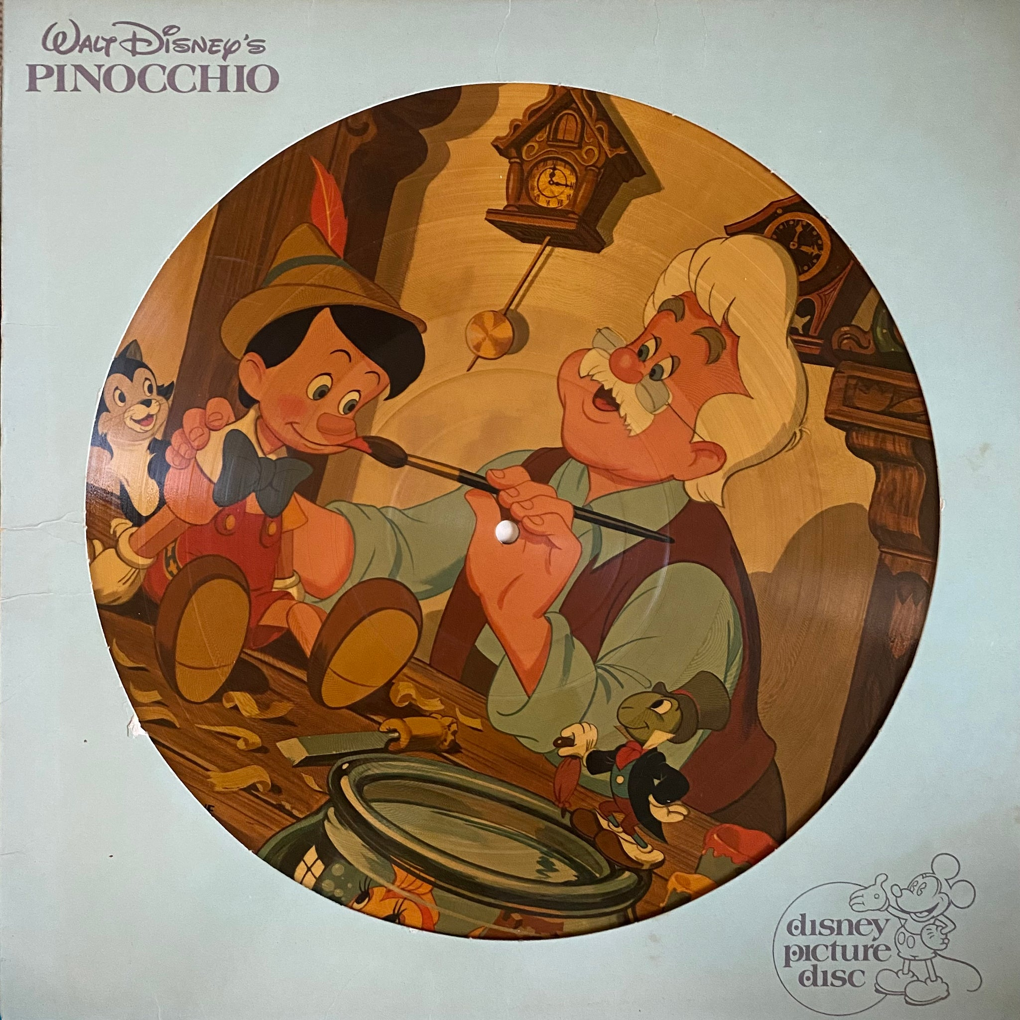 Pinocchio Picture Disc LP