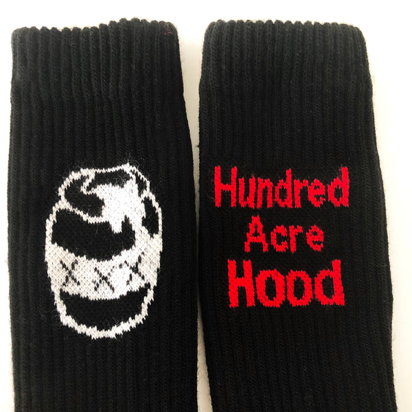 Hood Socks - Black
