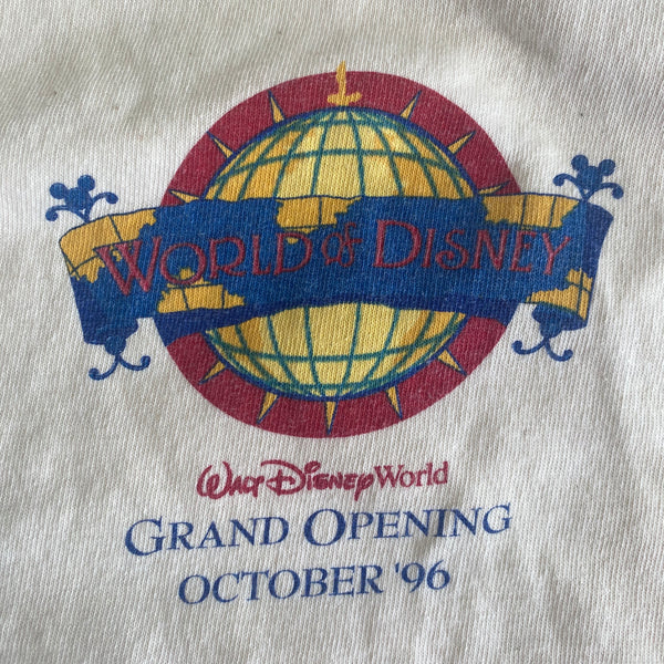 World of Disney Grand Opening - XL - VTG 1996