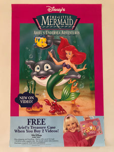 Little Mermaid Ad Poster