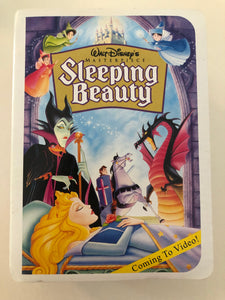 Sleeping Beauty McDonalds Toy
