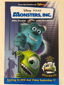 Monsters, Inc. Ad Poster