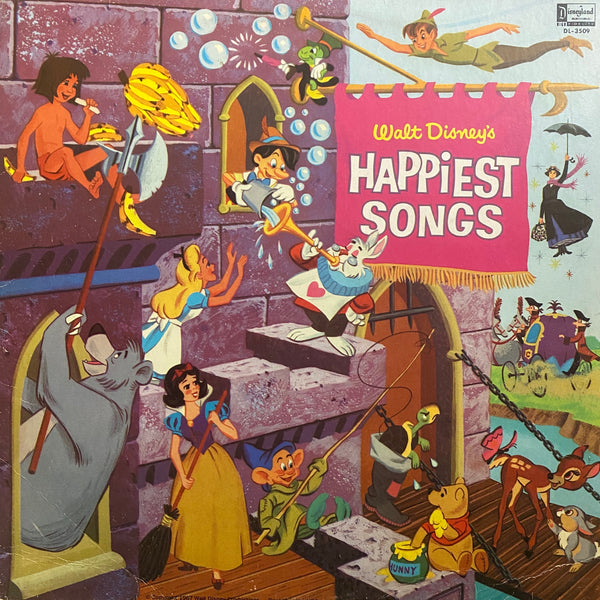 Walt Disney's Happiest Songs LP