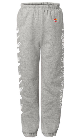 Snack Sweatpants - Grey
