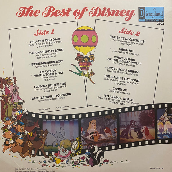 The Best of Disney Vol 1 LP