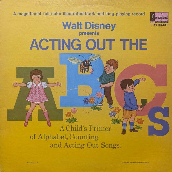 Walt Disney Presents the ABC's LP