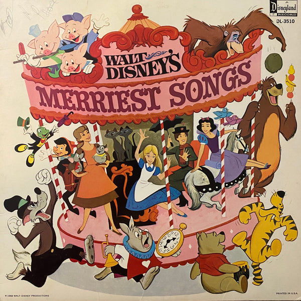 Walt Disney's Merriest Songs LP