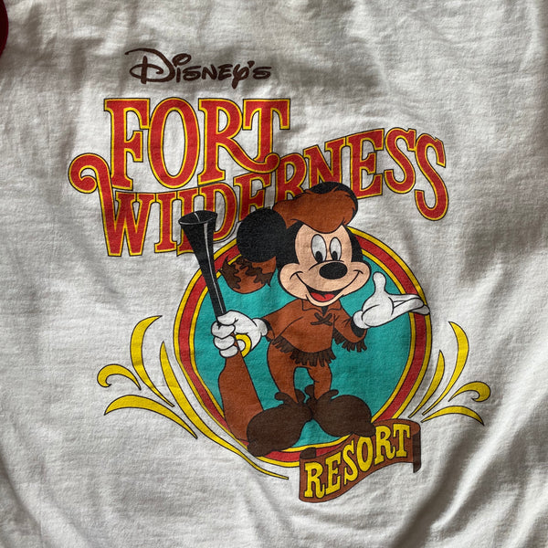 Fort Wilderness - L - VTG 90s