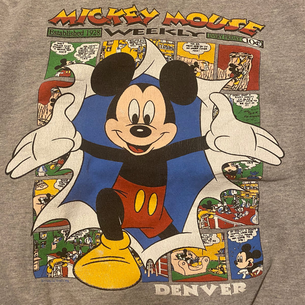 Mickey Comics Crewneck - L/XL - VTG 90s