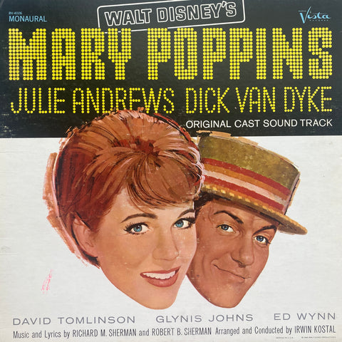 Mary Poppins Original Cast LP