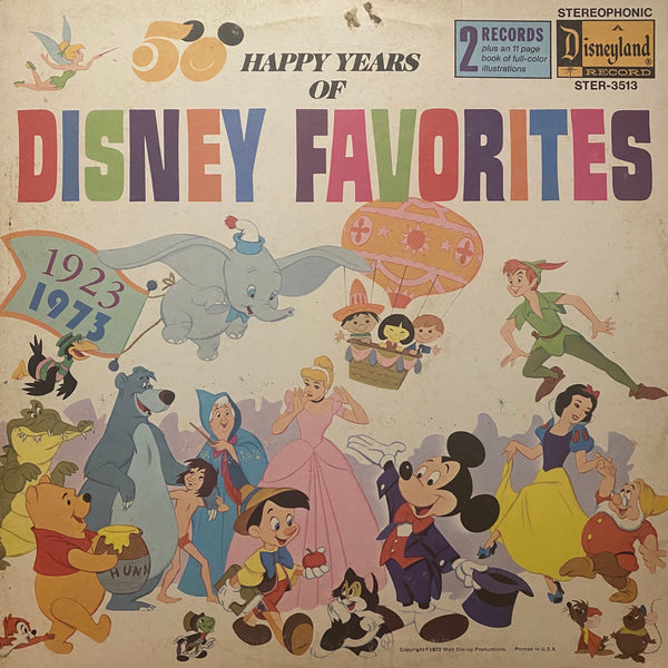 50 Happy Years of Disney Favorites LP