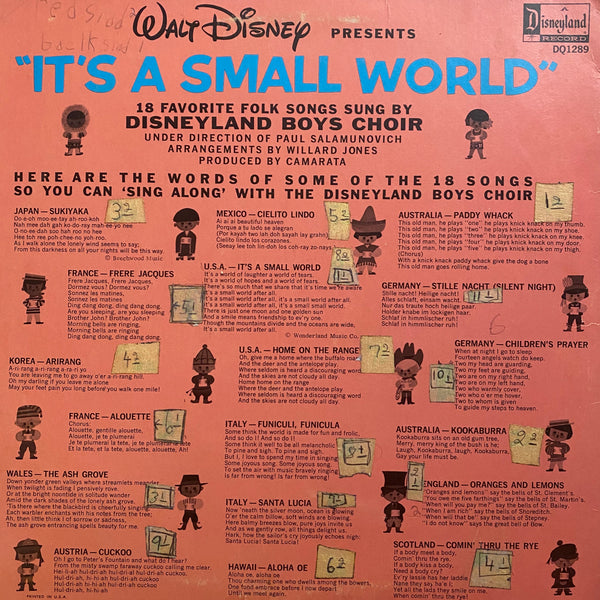 It's a Small World LP