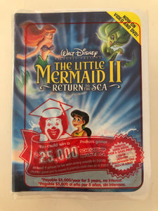 Little Mermaid 2 McDonalds Toy
