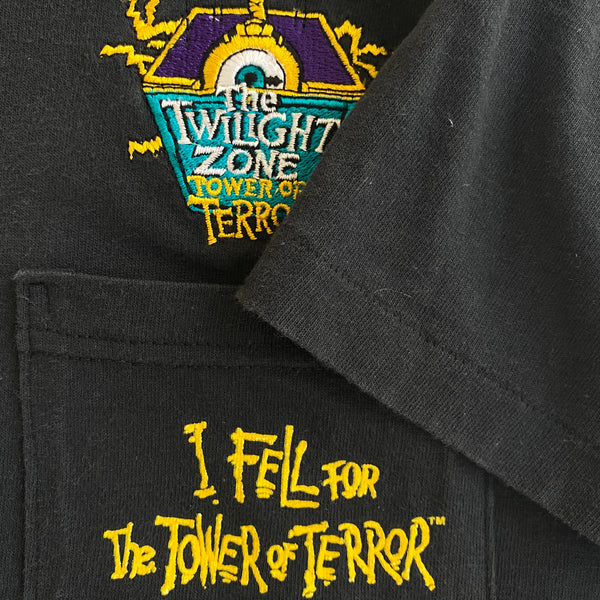 Tower of Terror Pocket Tee - XL - VTG '90s