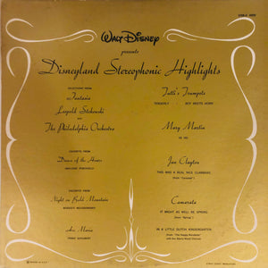 Disneyland Stereophonic Highlights