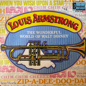 Louis Armstrong: The Wonderful World of Walt Disney LP