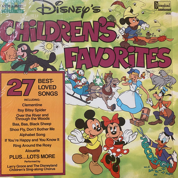 Disney's Children's Favorites Vol 3 LP