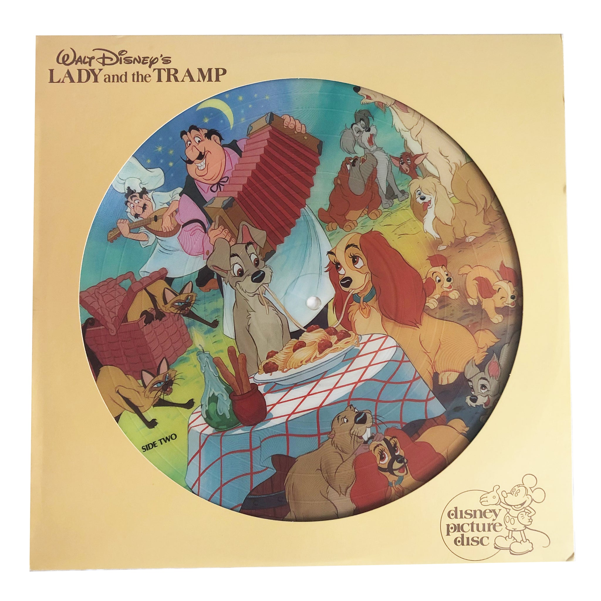 Lady and the Tramp Record