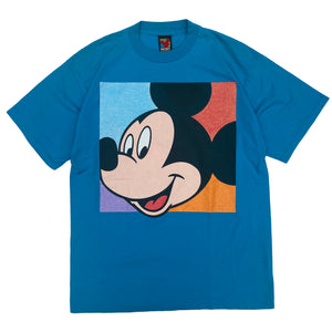 Big Face Mickey - L - VTG '90s