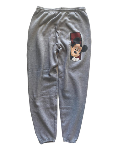 Mickey Sweats Grey - L - VTG 90s