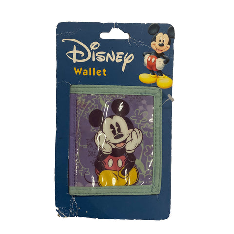 Mickey Wallet Purple - VTG 90s