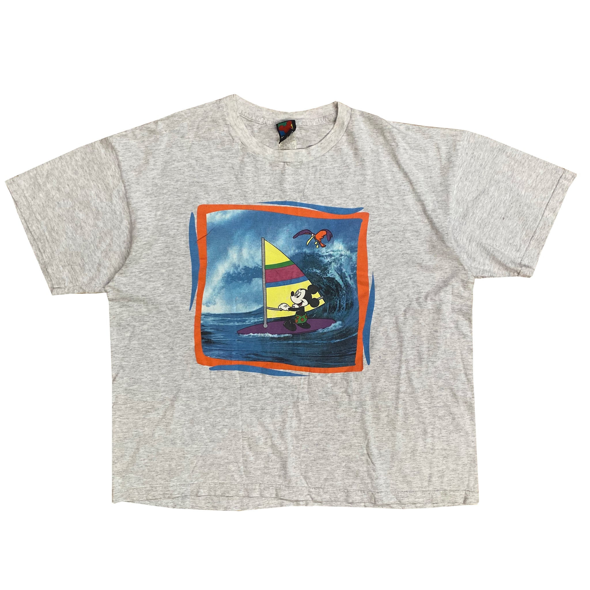 Windsurfing Mickey - XL - VTG 90s