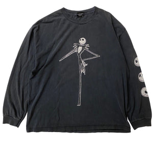Nightmare Before Christmas L/S - XL - VTG 90s