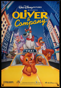 Oliver and Company Poster - 1996