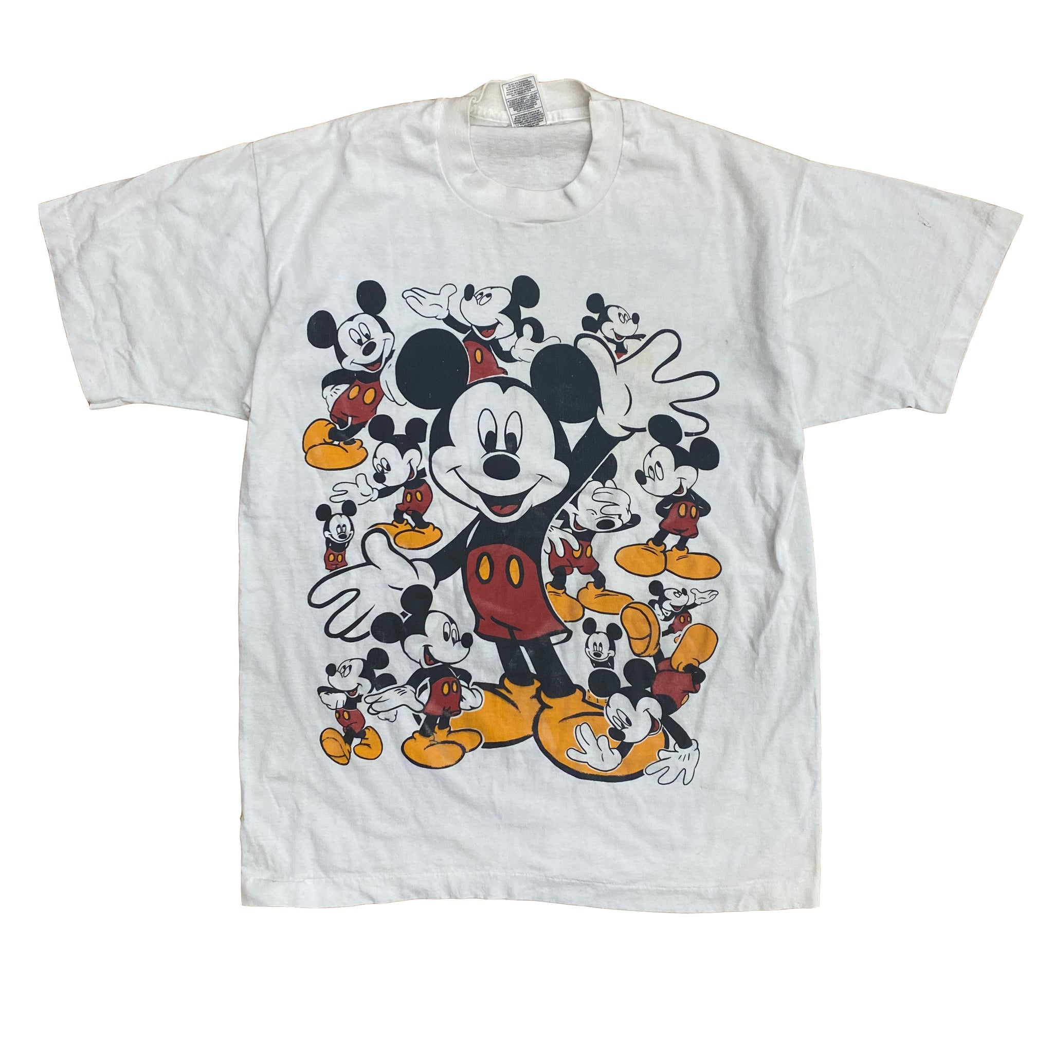 Mickey Pieces - M - VTG 90s