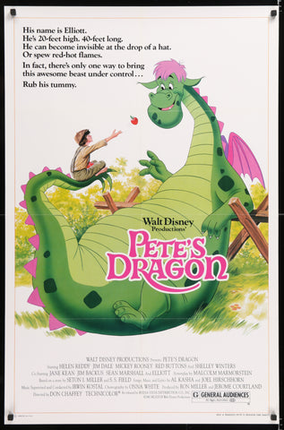 Pete's Dragon Poster - 1984