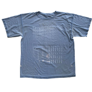 Recycled Blue Face (Reversible) - XL