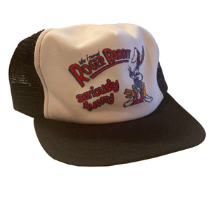 Who Framed Roger Rabbit? Trucker Hat - VTG 80s