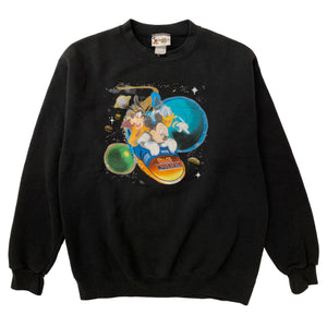 Space Mountain Crewneck - L - VTG '00