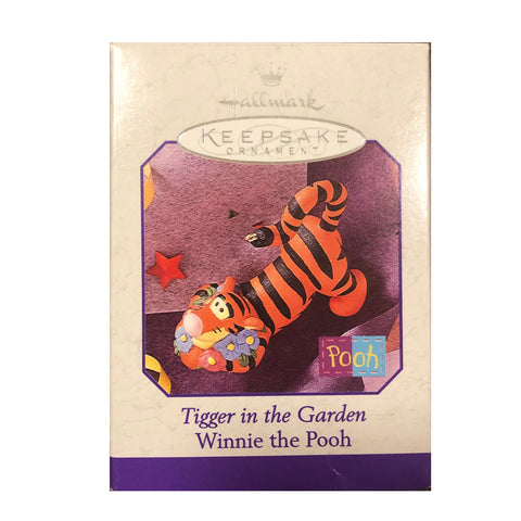 Tigger in the Garden Ornament - VTG 98