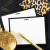 Leopard Print, Animal Print Stationery Set