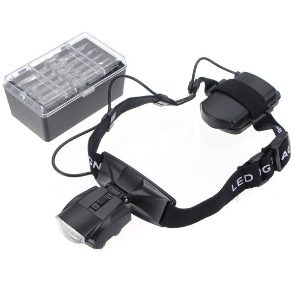 Magnifying Glasses with LED Lighting