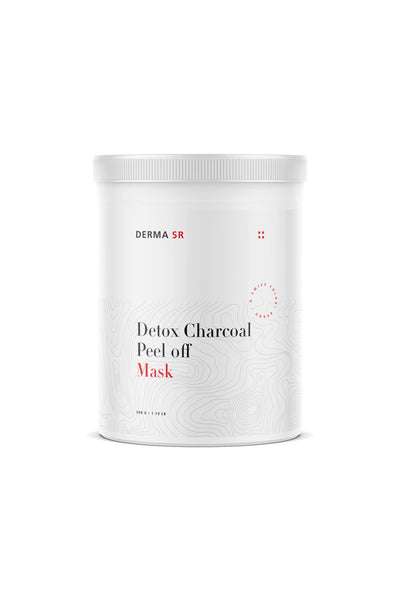 DERMA SR Detox Charcoal Peel off Mask (500g) - PRO