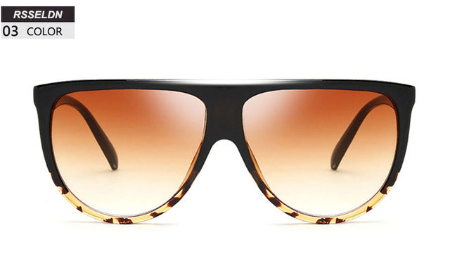 New Black Clear Women Square Sunglasses - Been Still