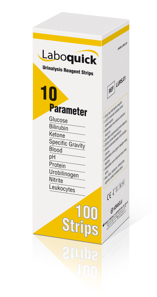 10 Parameter Urinalysis Strip Test 100pcs Box