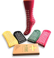 E&E FALL MANAGEMENT SOCKS - NON SLIP MEDICAL SOCKS- HOSPITAL SOCKS