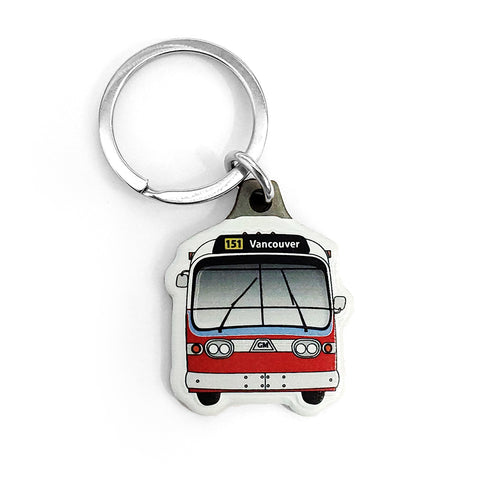 """New Look"" Retro Bus Key Chain"