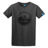 Men's Retro SeaBus T-shirt, Dark Grey with Black Logo