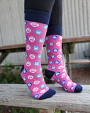Icon Socks-Pink