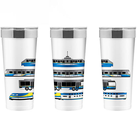 Transit Vehicle Travel Mug