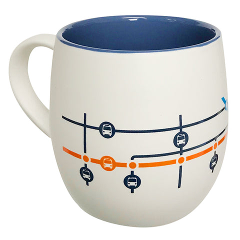 Broadway-City Hall Station Map Mug