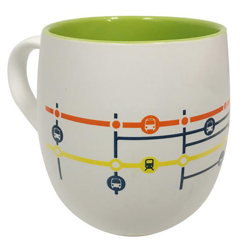 Lougheed Town Centre Station Map Mug