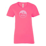 Retro SeaBus T-Shirts, Ladies- Raspberry