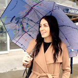 Bus System Map Umbrella