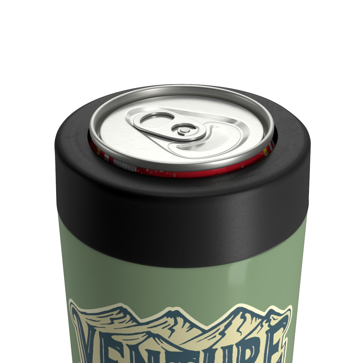Logo Deluxe Can Cooler