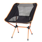 Short Back Ultra Comfortable Lightweight Folding Chair w/ Carry Case - Venture Life